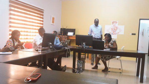 Les locaux de l'espace de coworking WaDjoko