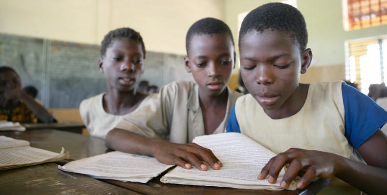 Enseignement au Bénin